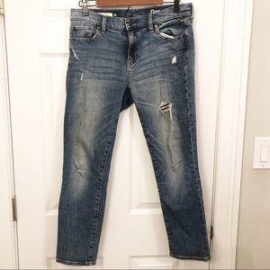 GAP 1969 Girlfriend Jeans (Dark Wash)